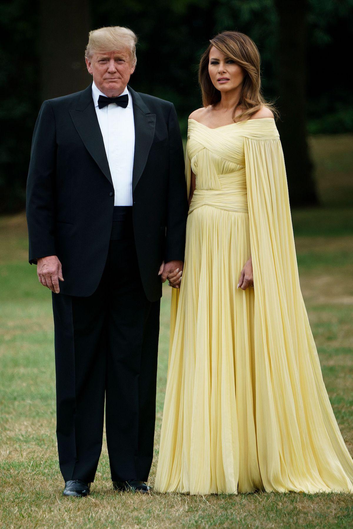 US First Lady Melania Trump (Photo by BRENDAN SMIALOWSKI/AFP via Getty Images)