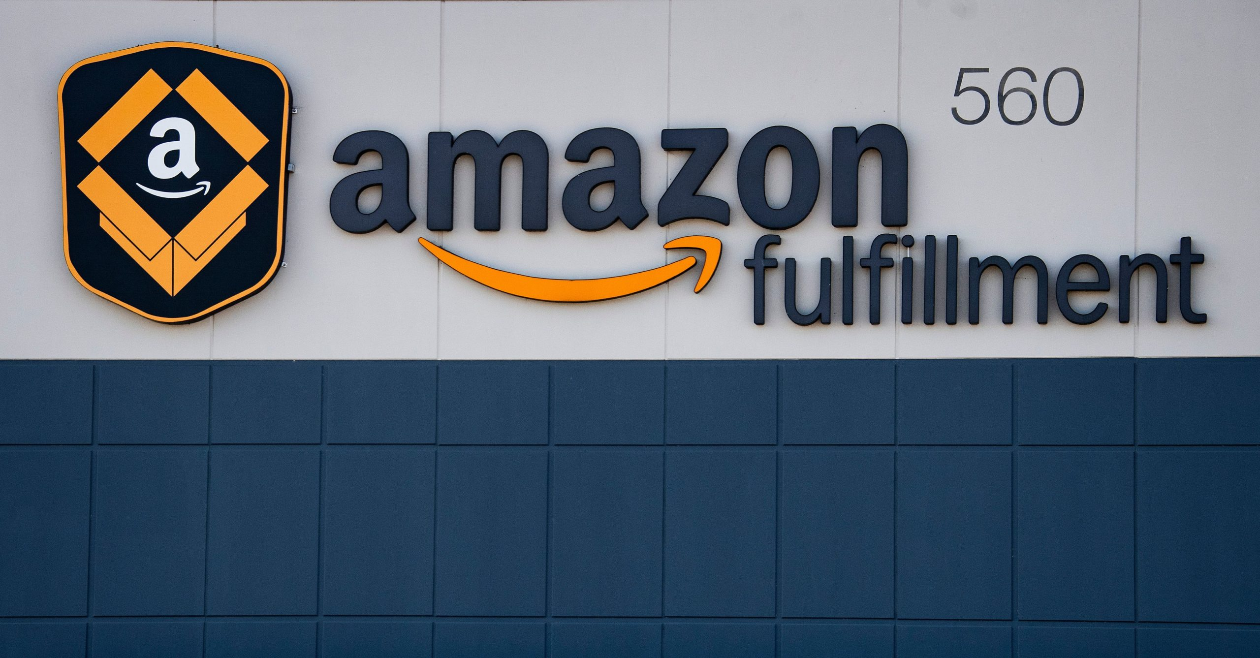 The Amazon fulfillment warehouse in Middletown, Delaware is pictured. (Jim Watson/AFP via Getty Images)