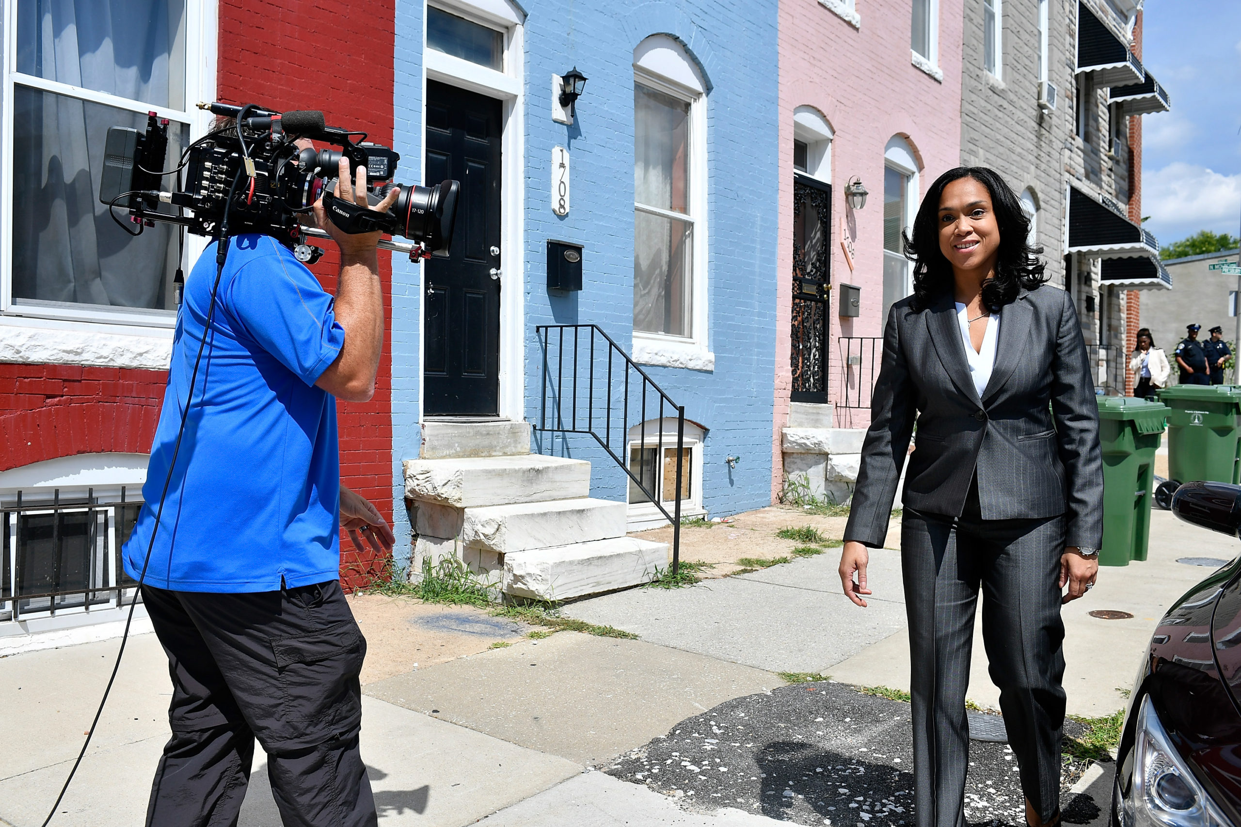State's Attorney for Baltimore Marilyn Mosby is interviewed on Aug. 24, 2016 in Baltimore, Maryland. (Larry French/Getty Images for BET Networks)