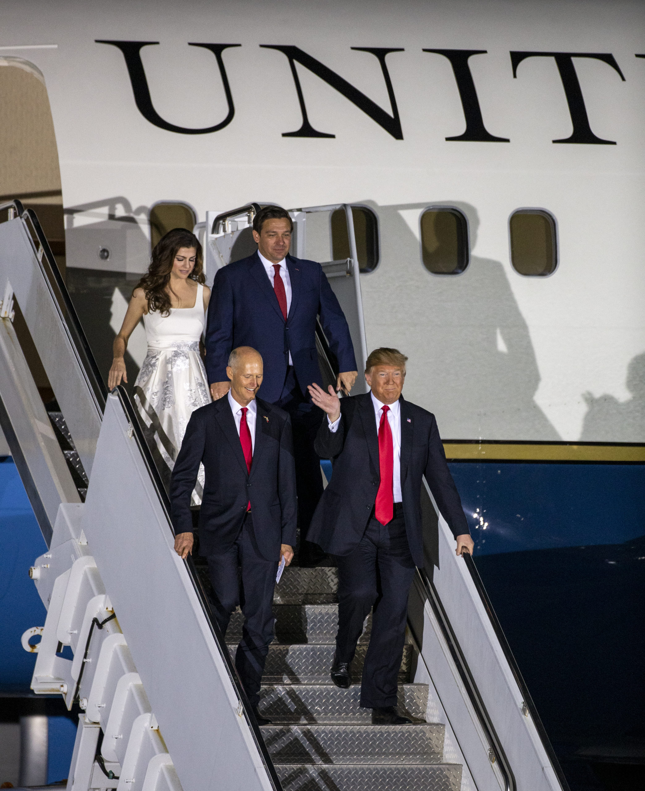 President Trump Holds Campaign Rally In Pensacola, Florida