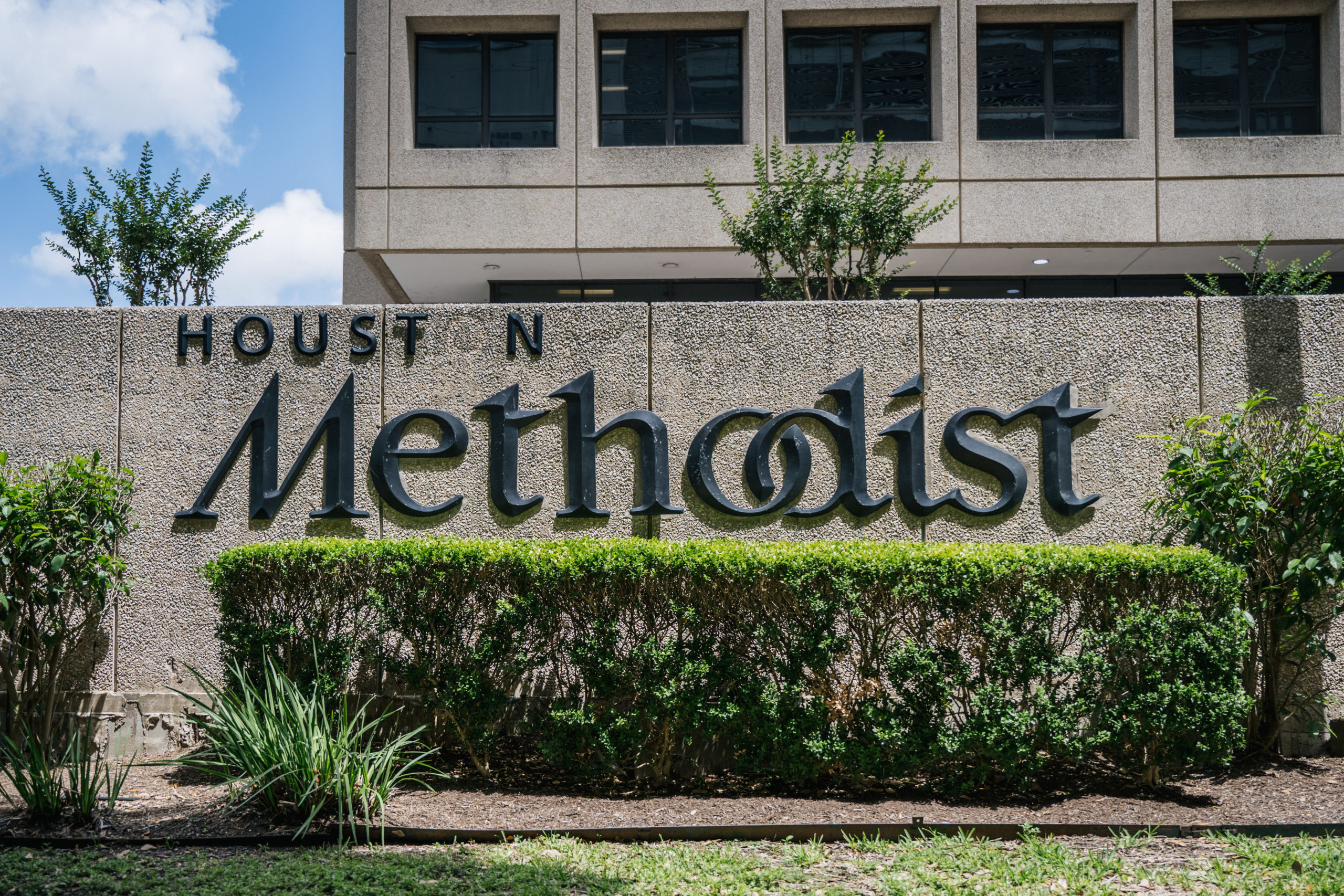 HOUSTON, TEXAS - JUNE 09: The exterior of the Houston Methodist Hospital is seen on June 09, 2021 in Houston, Texas. Houston Methodist Hospital has suspended 178 employees without pay for 14 days for their refusal to comply with its COVID-19 vaccine requirement. (Photo by Brandon Bell/Getty Images)