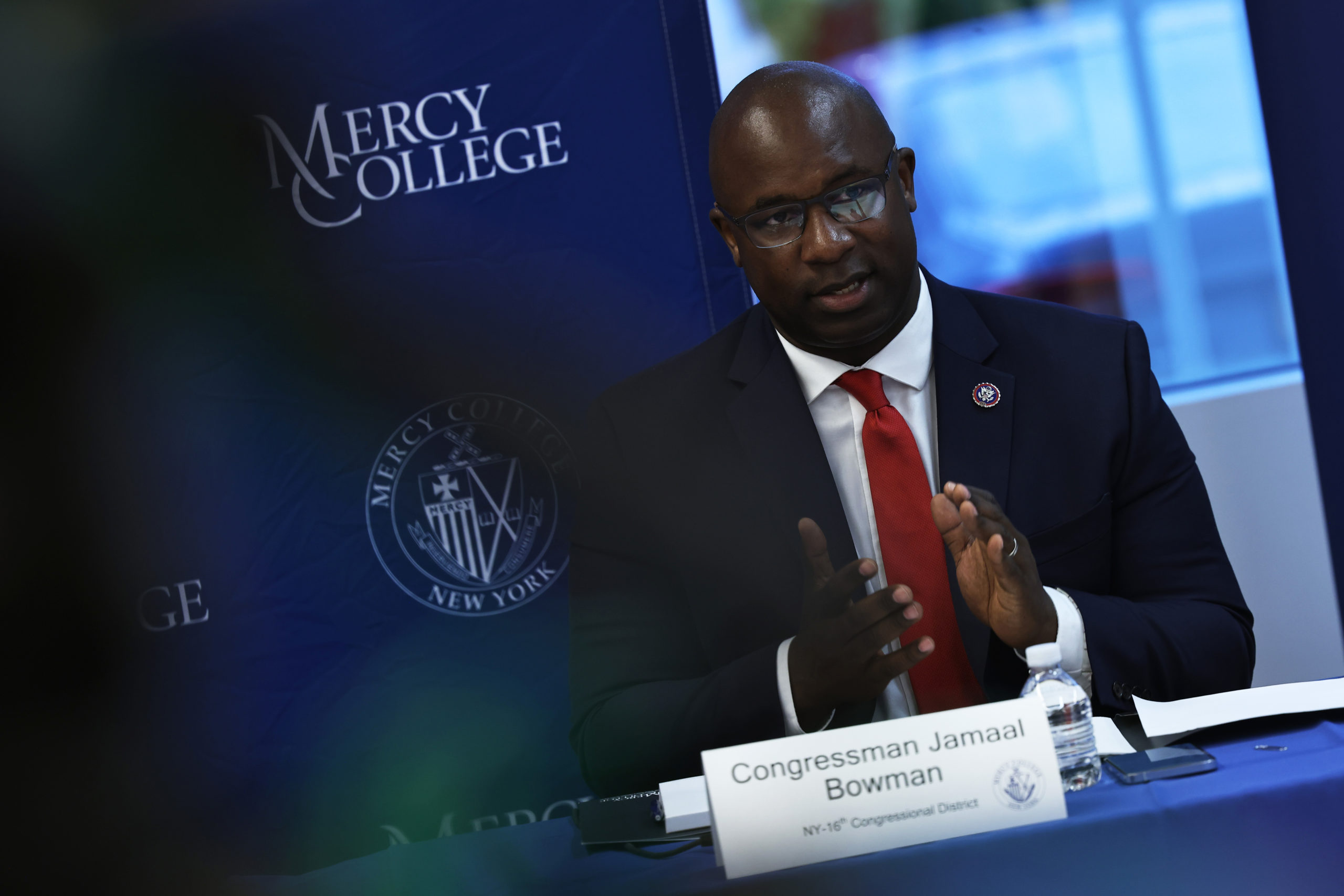 Education Secretary Cardona Visits Mercy College In The Bronx