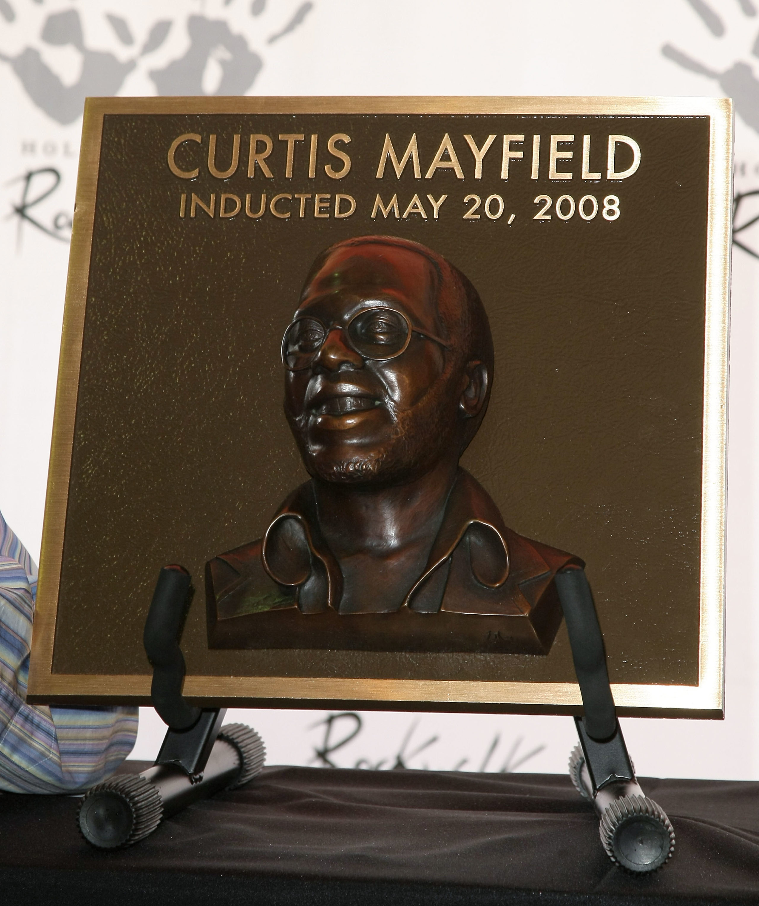Curtis Mayfield Honored At Hollywood's RockWalk