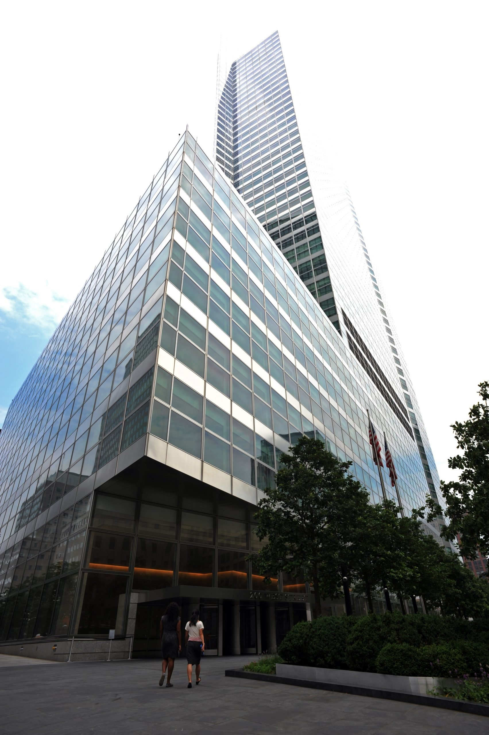 The headquarters of investment banking and securities firm Goldman Sachs in lower Manhattan on June 22, 2012 in New York.