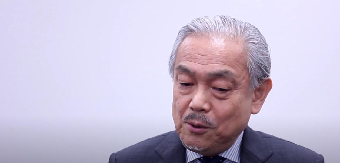 Haruo Ozaki (Screenshot/ShingetsuNews via YouTube)