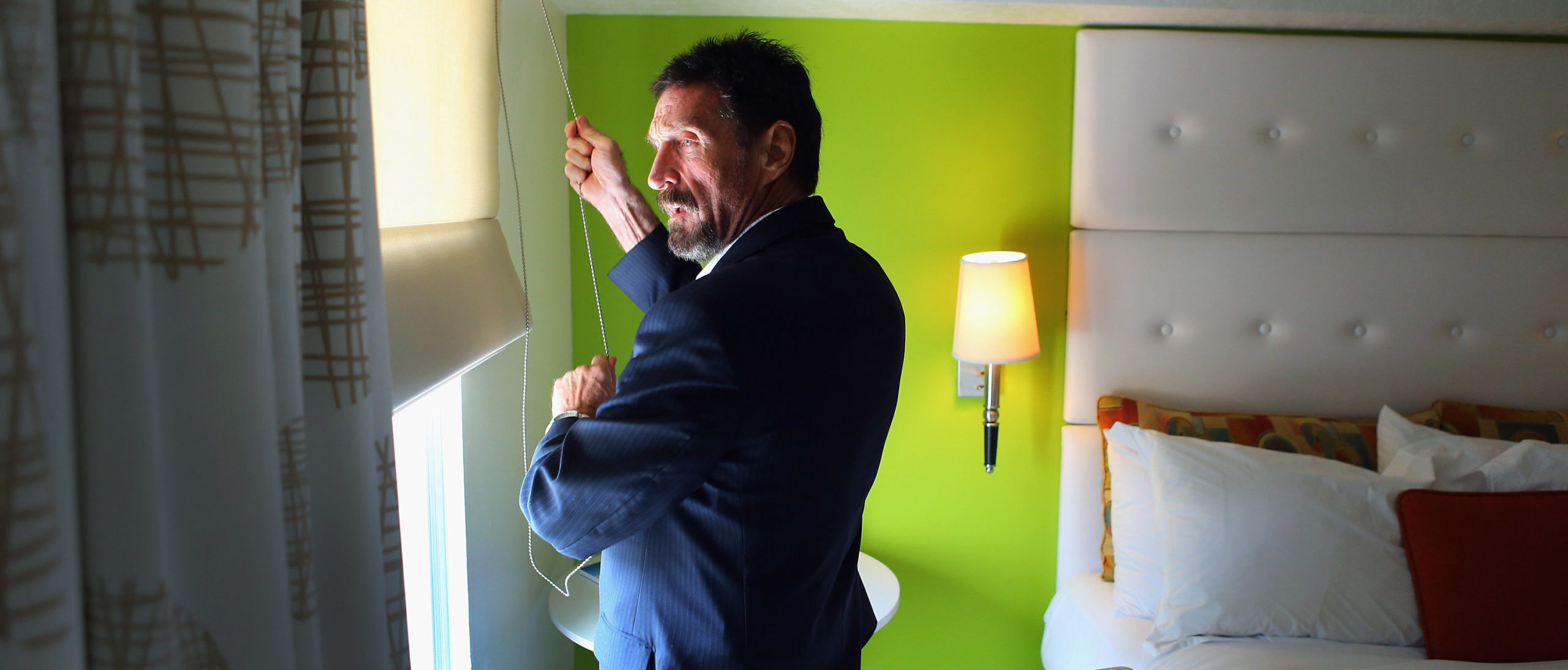 John McAfee Reportedly Found Dead In Spanish Jail