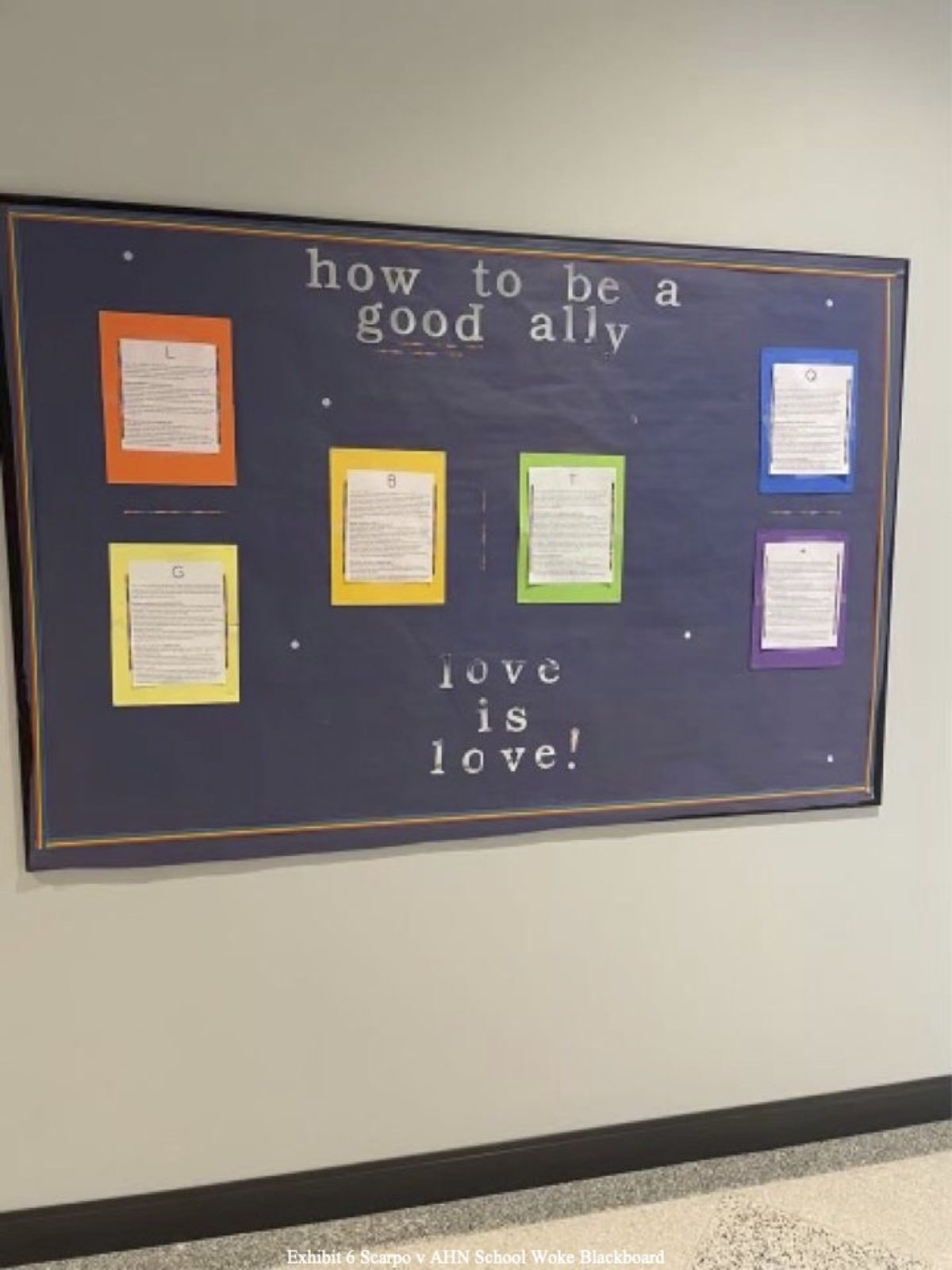 AHN LGBTQ+ Bulletin Board