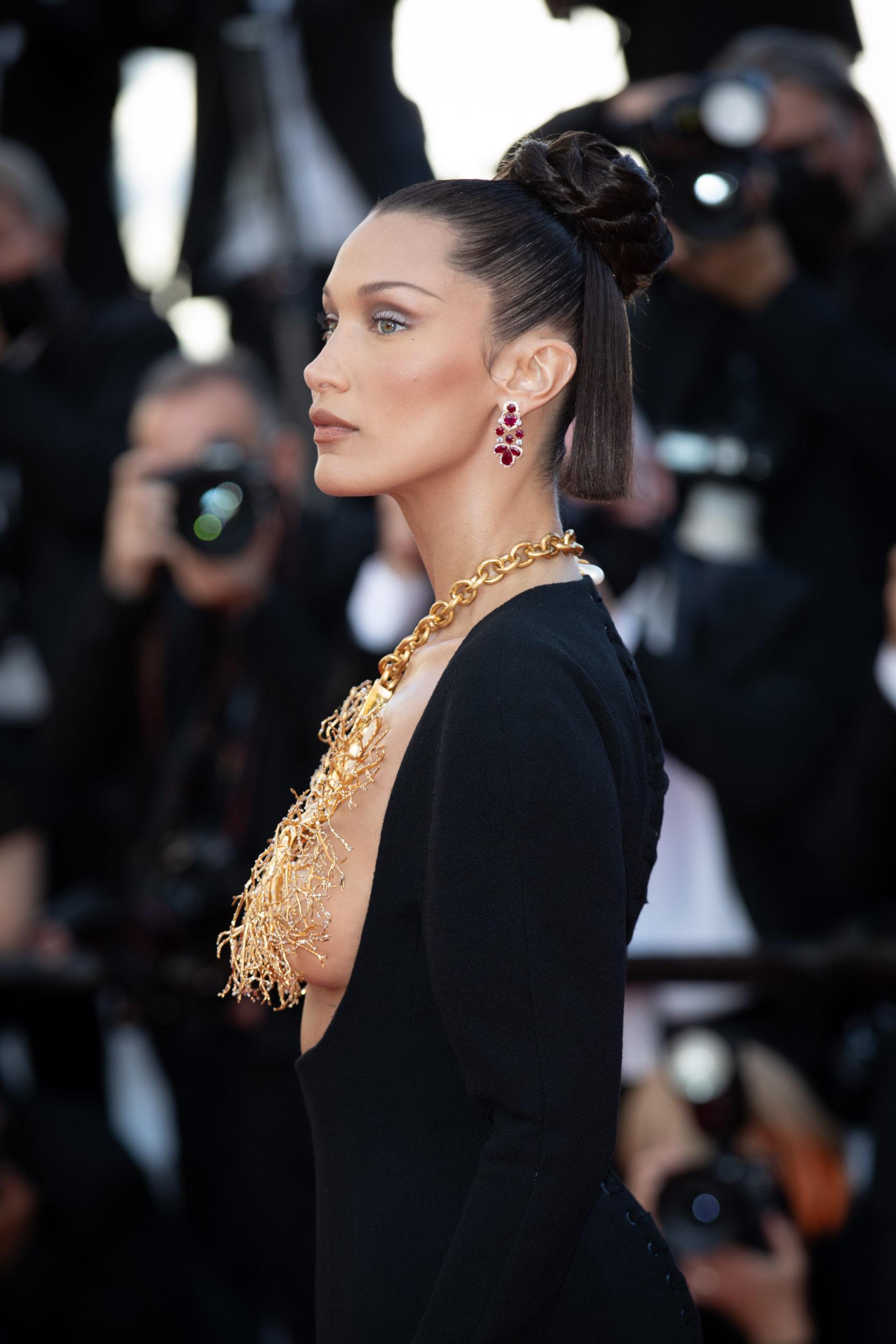 Bella Hadid Cannes, France (Photo Credit: SplashNews.com)