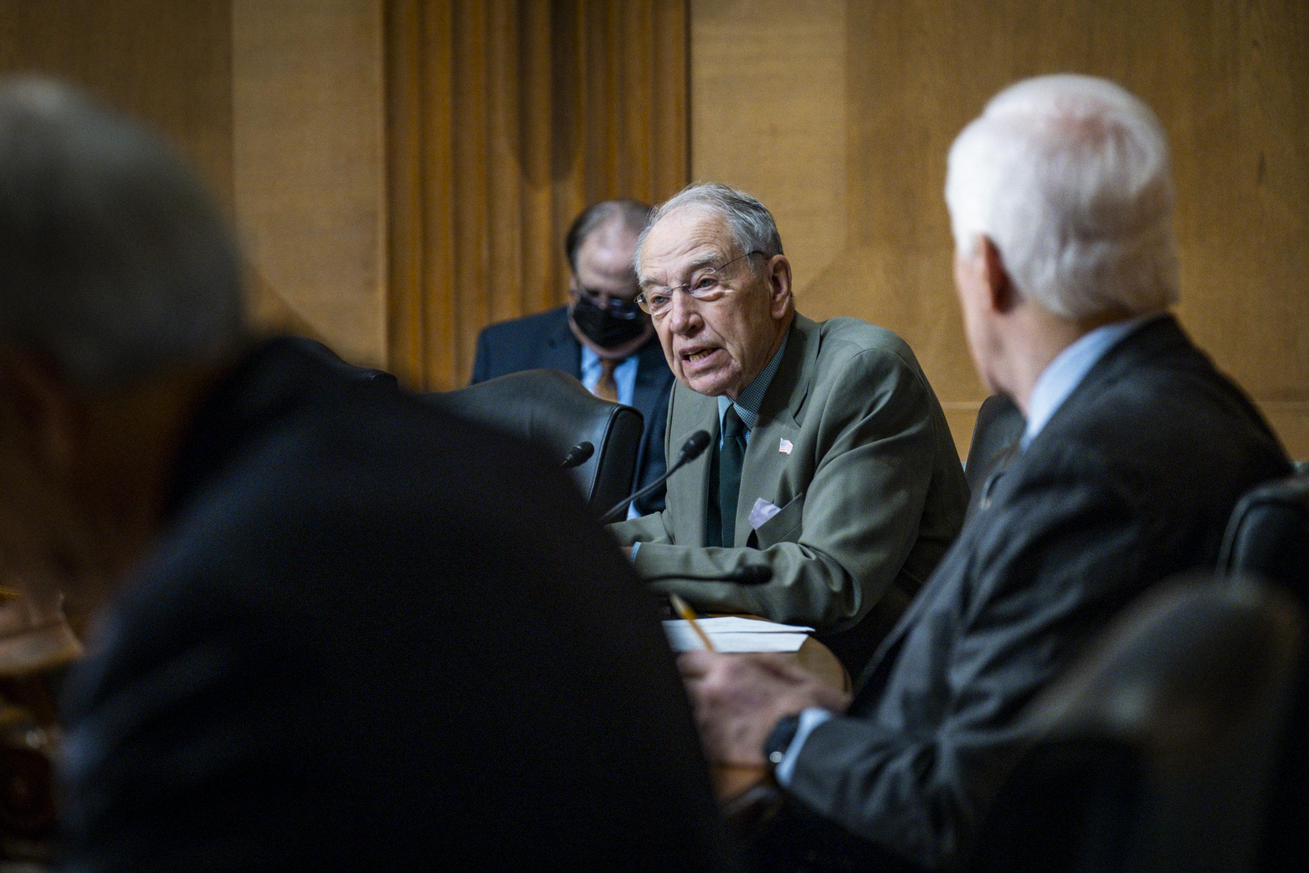U.S. Trade Rep. Tai Testifies On Trade Agenda Before Senate Finance Committee