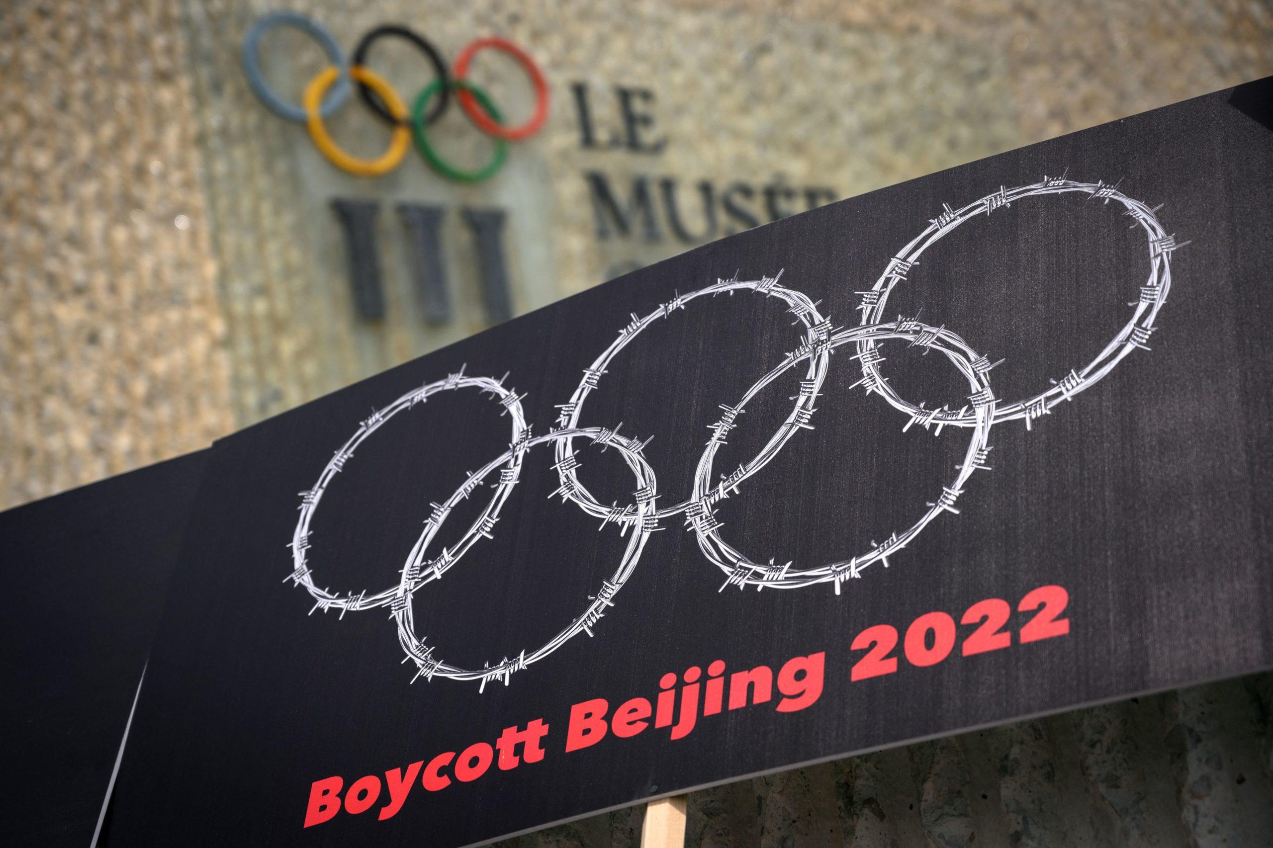 SWITZERLAND-CHINA-OLY-2022-POLITICS-DEMONSTRATION