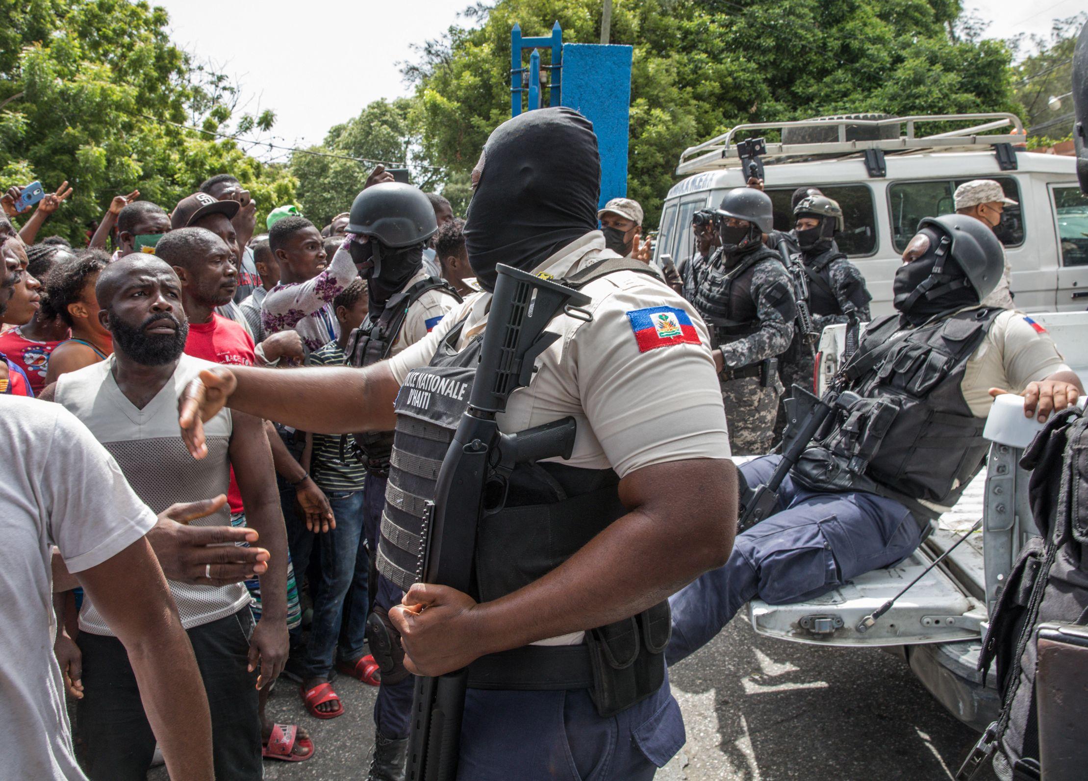 Moise Assassination President Haiti Dimitri Herard Arrest