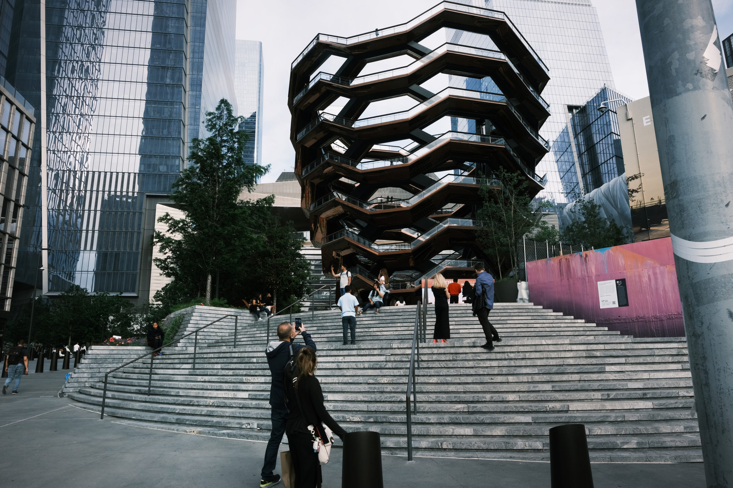 """The """"Vessel"""" At New York City's Hudson Yards Re-Opens After Series Of Suicides"""