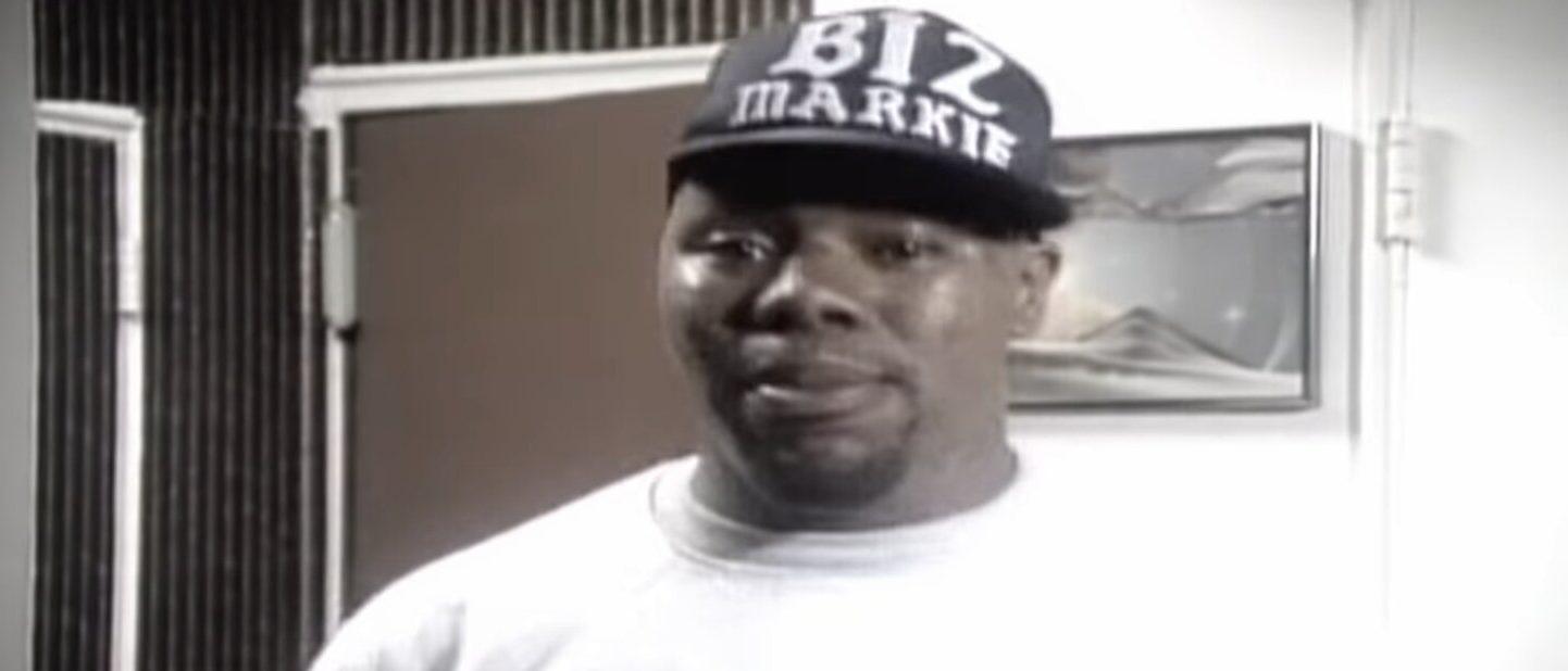 "Biz Markie in the music video ""Vapor."" [Screenshot/YouTube/UPROXX Video]"