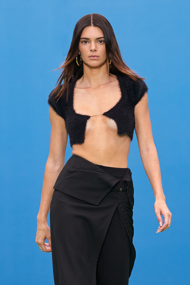 Kendall Jenner Paris, France Date (Photo Credit: SplashNews.com)