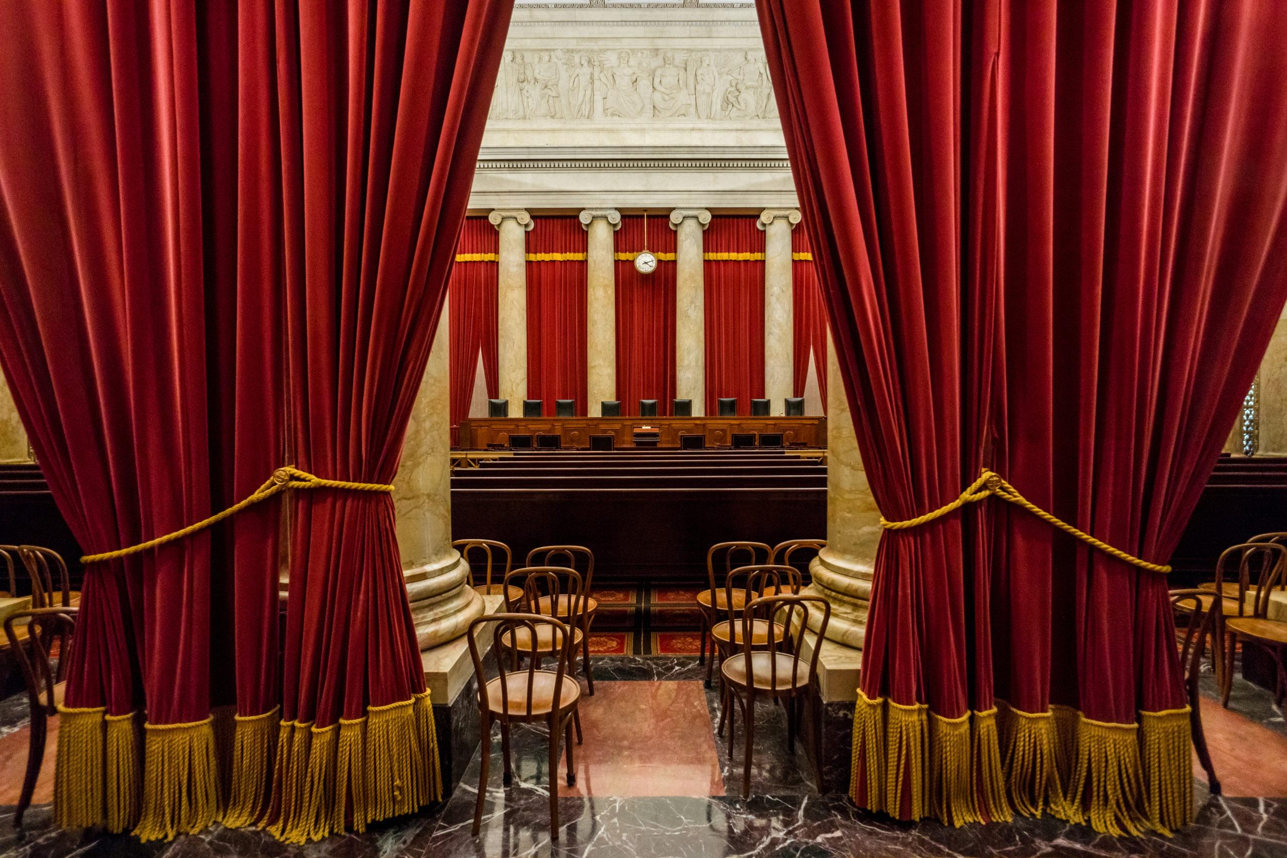 Supreme Court, Washington D.C.. [Shutterstock/stock_photo_world]