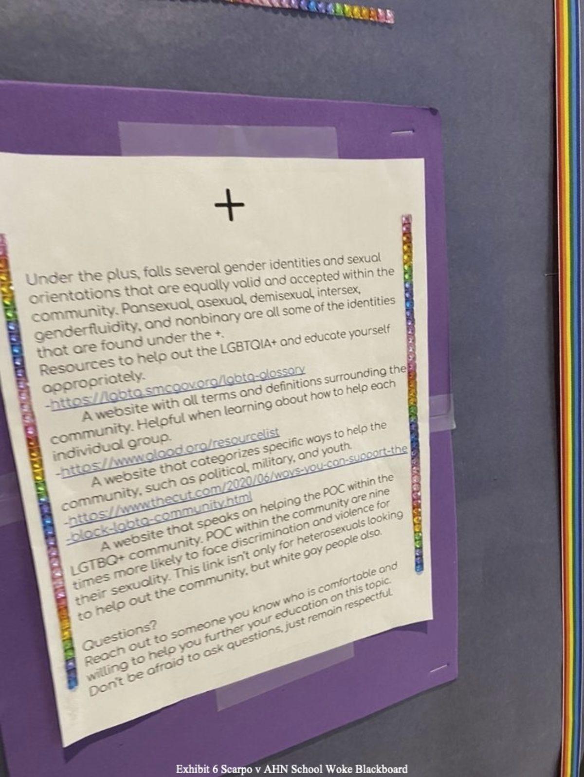 AHN LGBTQ+ Bulletin Board (+)