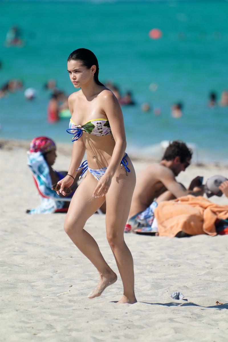 American Actress Paris Berelc Miami, Florida Photo Credit: Pichichipixx.com / SplashNews.com
