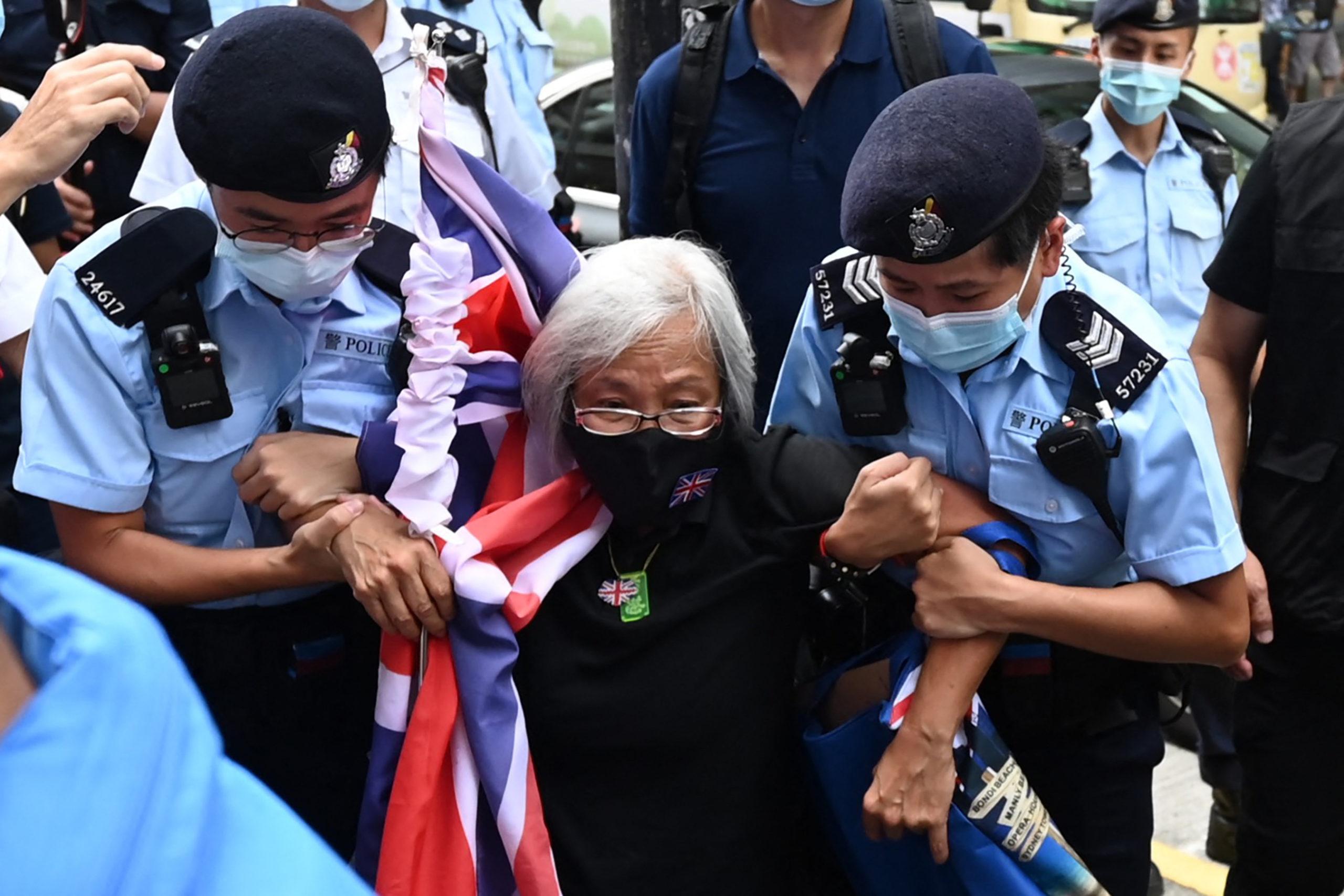 HONG KONG-CHINA-POLITICS-PARTY-ANNIVERSARY