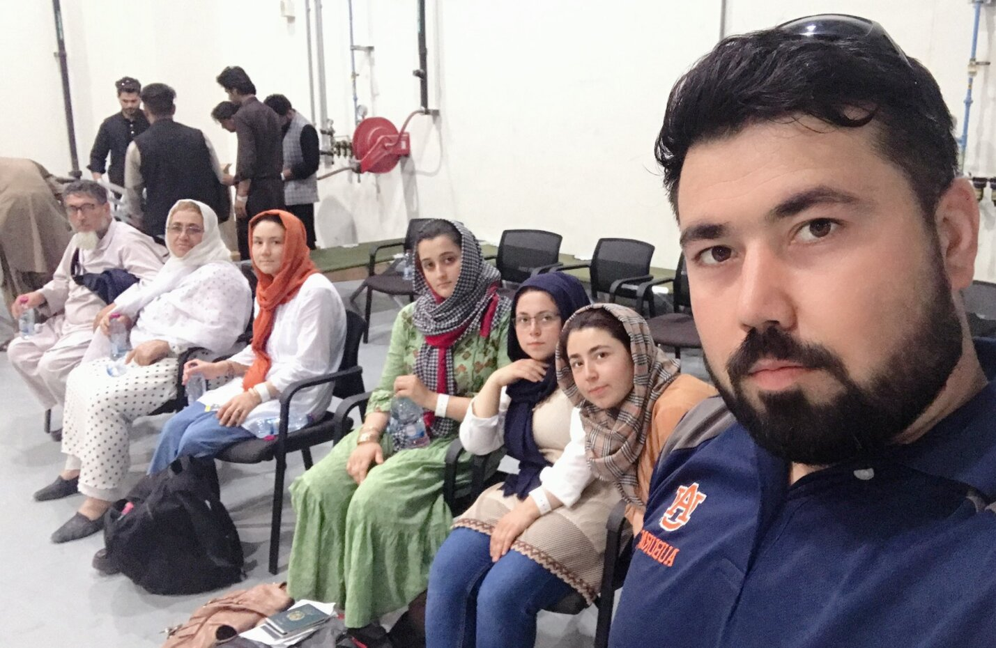 Mirzada's Family Arrives In Qatar