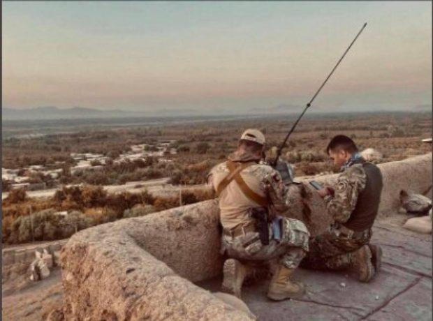 Major Naqib Mirzada In Afghanistan