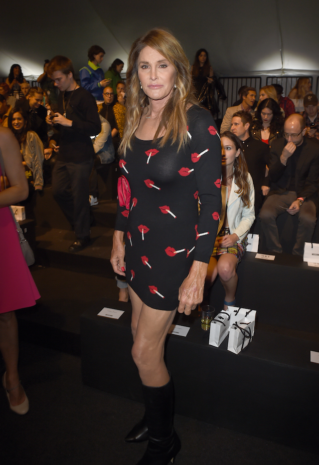 TV personality Caitlyn Jenner attends the Moschino Spring/Summer 17 Menswear and Women's Resort Collection during MADE LA at L.A. LIVE Event Deck on June 10, 2016 in Los Angeles, California. (Photo by Kevin Winter/Getty Images)