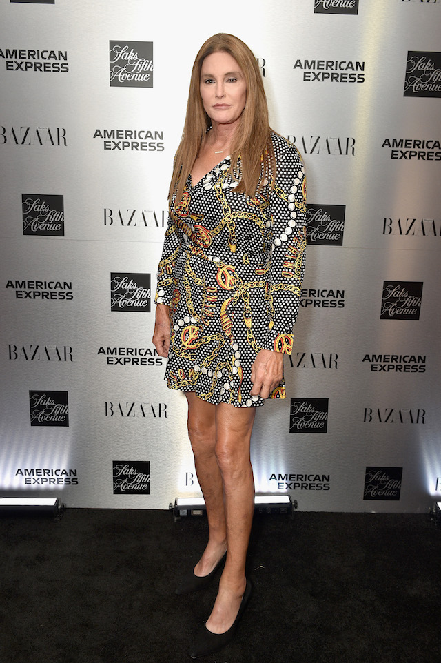 Caitlyn Jenner attends the launch of the Saks IT List Townhouse hosted by Glenda Bailey and Katie Holmes in partnership with American Express and Harper's BAZAAR on September 6, 2018 in New York City. (Photo by Bryan Bedder/Getty Images for Harper's Bazaar)