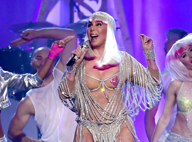 Actress/singer Cher performs onstage during the 2017 Billboard Music Awards at T-Mobile Arena on May 21, 2017 in Las Vegas, Nevada. (Photo by Ethan Miller/Getty Images)