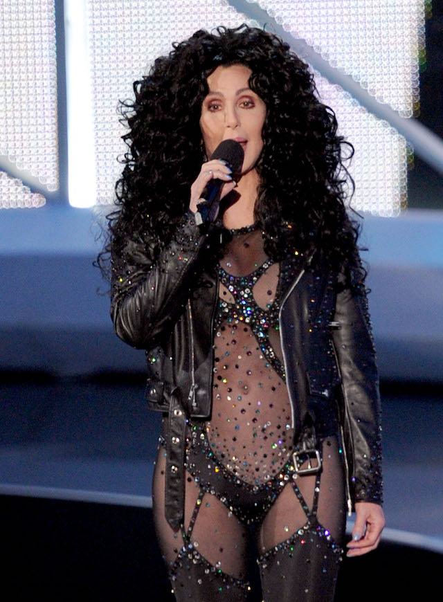 Singer Cher performs onstage during the 2010 MTV Video Music Awards at NOKIA Theatre L.A. LIVE on September 12, 2010 in Los Angeles, California. (Photo by Kevin Winter/Getty Images)