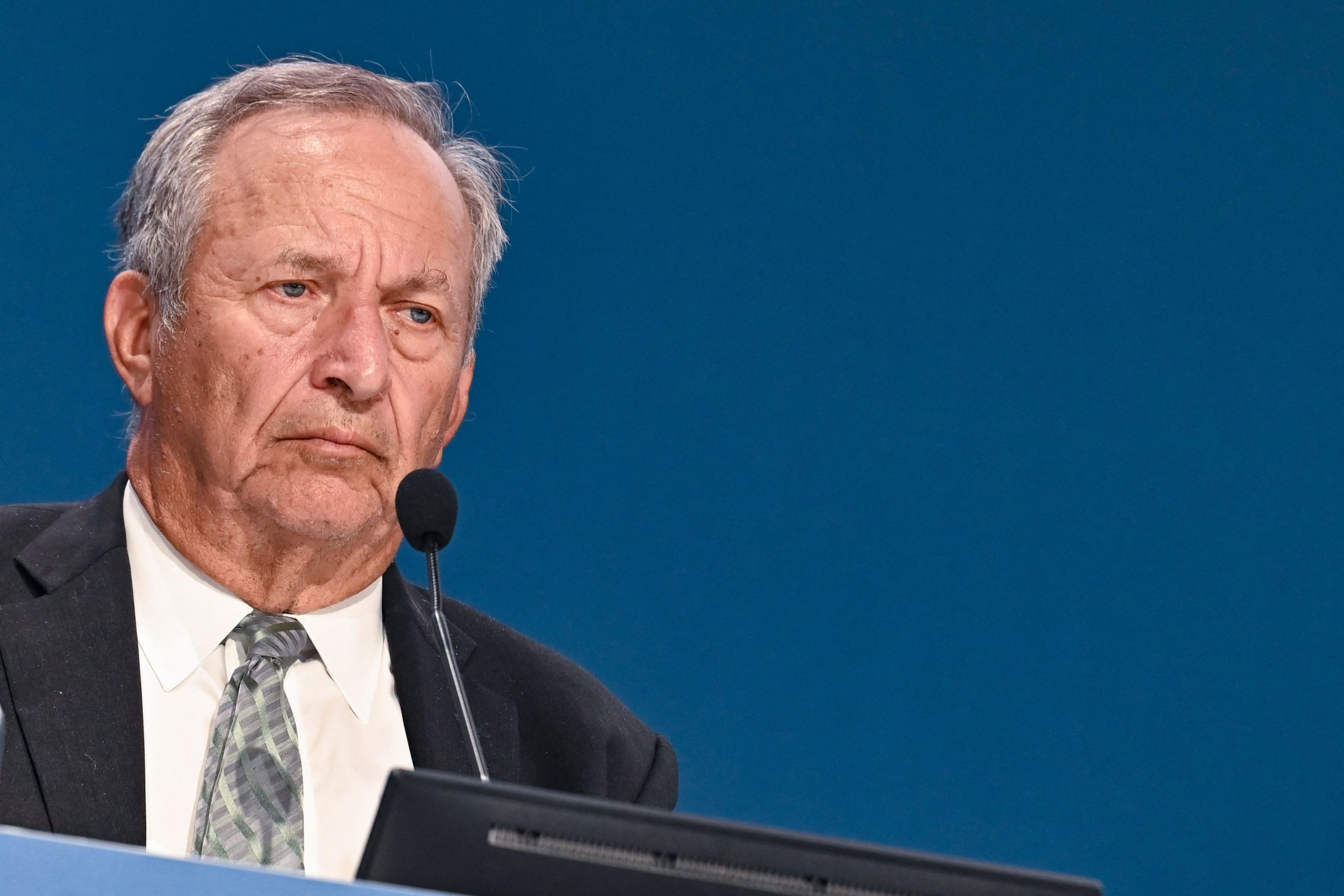 Lawrence Summers, who served as Treasury secretary under former President Bill Clinton, signed the letter Wednesday. (Andreas Solaro/AFP via Getty Images)