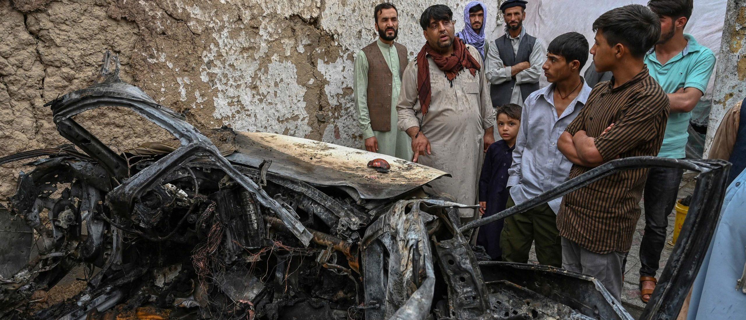 Kabul on August 30, 2021. (Photo by WAKIL KOHSAR / AFP) (Photo by WAKIL KOHSAR/AFP via Getty Images)