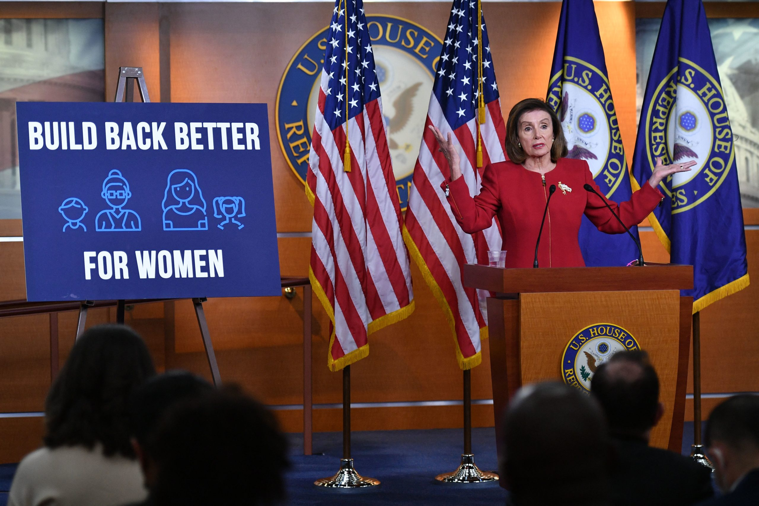 House Speaker Nancy Pelosi said Wednesday that a debt ceiling increase would not be included in Democrats' budget, setting up another bitter, partisan fight. (MANDEL NGAN/AFP via Getty Images)