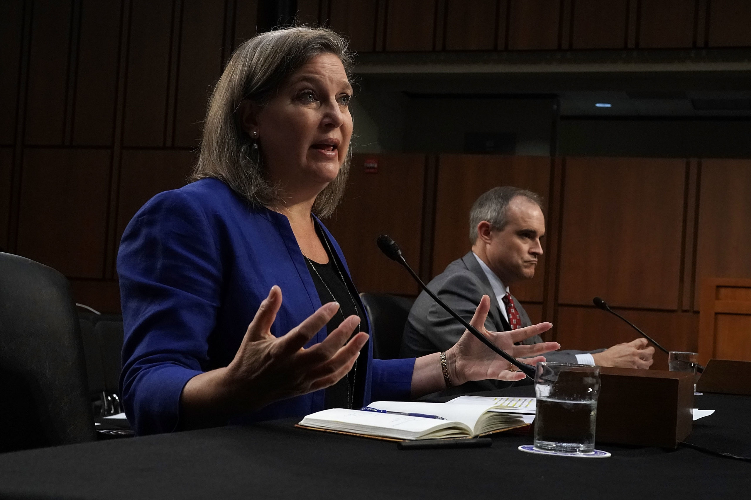 Under Secretary of State for Political Affairs Victoria Nuland testifies during a hearing on June 20, 2018. (Alex Wong/Getty Images)