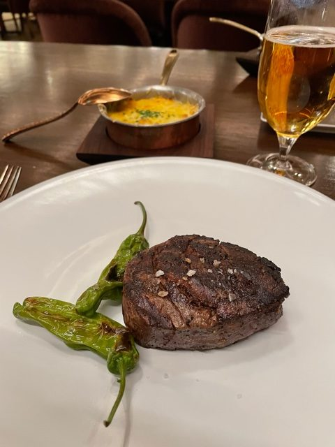 Bugsy & Meyer's Steakhouse (Credit: David Hookstead)