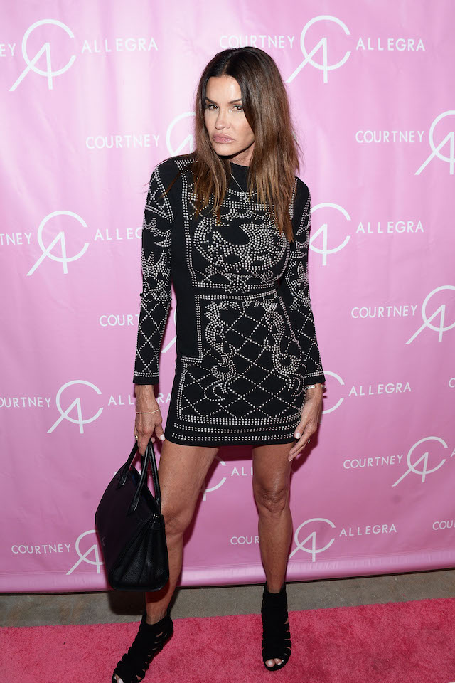 Model Janice Dickinson attends the Courtney Allegra VIP store opening and fashion show on August 25, 2016 in Los Angeles, California. (Photo by Matt Winkelmeyer/Getty Images for Art Hearts Fashion)