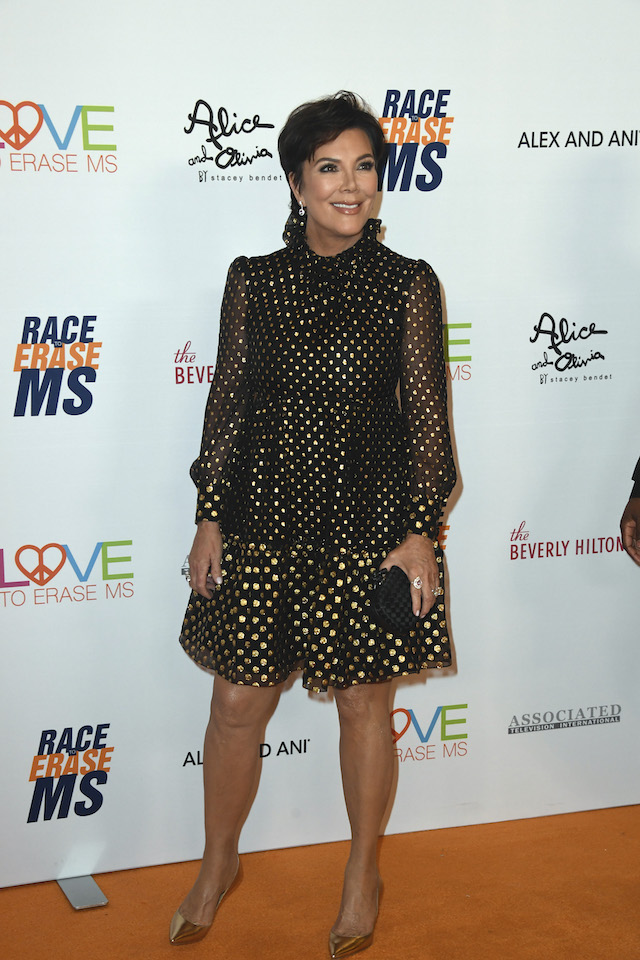 Kris Jenner attends the 26th annual Race to Erase MS on May 10, 2019 in Beverly Hills, California. (Photo by Frazer Harrison/Getty Images for Race To Erase MS)