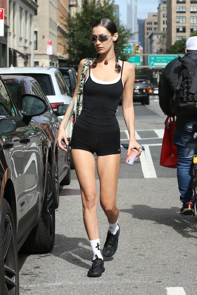 Bella Hadid New York City (Photo credit: Christopher Peterson / SplashNews.com)