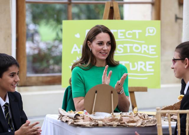 Duchess of Cambridge London, UK (Photo credit: Ian Vogler-Daily Mirror/POOL supplied by Splash News / SplashNews.com)