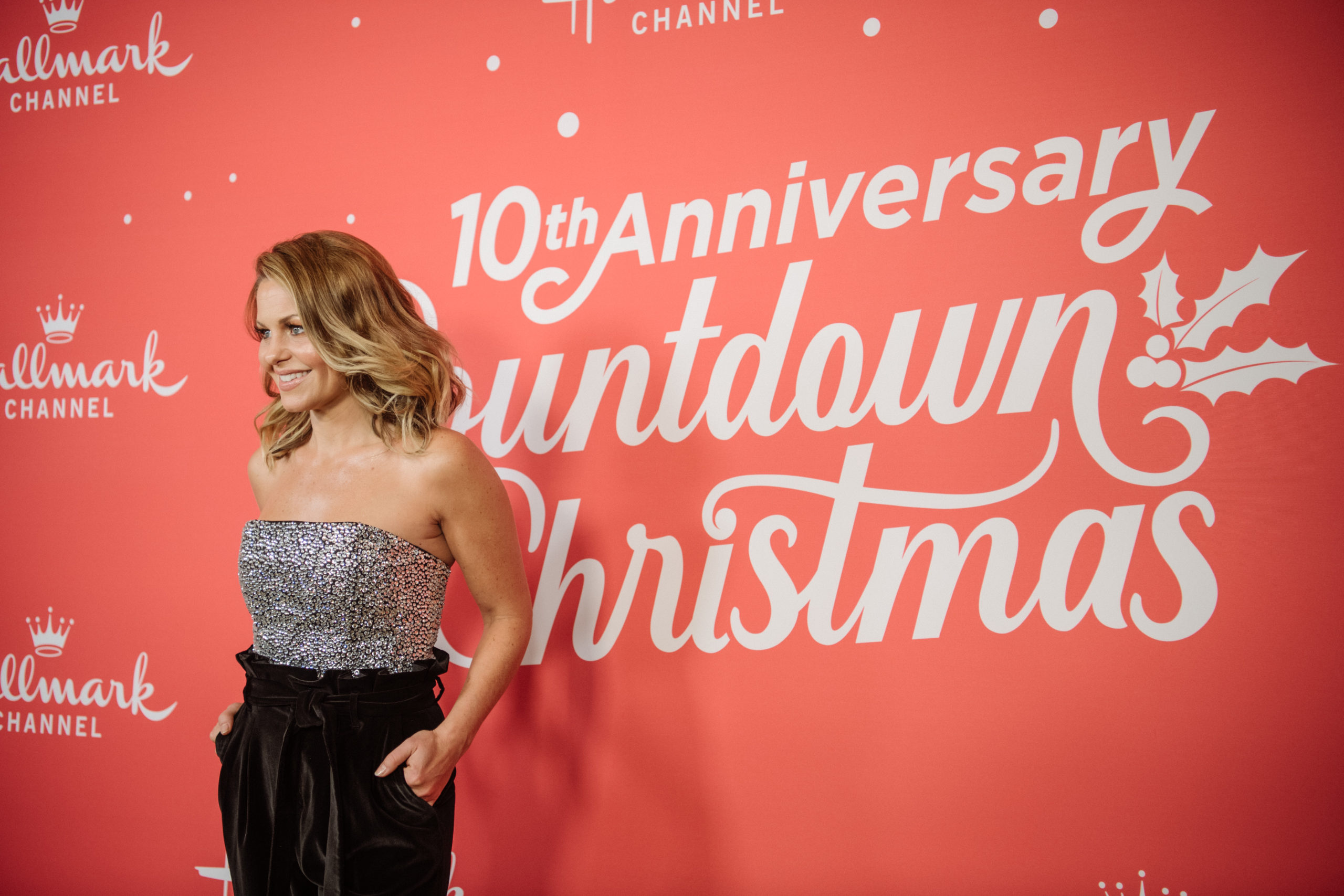 """BEVERLY HILLS, CALIFORNIA - OCTOBER 21: Candace Cameron-Bure arrives at the Los Angeles special screening of Hallmark Channel's """"A Christmas Love Story"""" at Montage Beverly Hills on October 21, 2019 in Beverly Hills, California. (Photo by Morgan Lieberman/Getty Images)"""