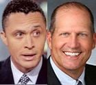 Photo of Harold Ford Jr. & John E. Sununu