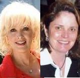 Photo of Janine Turner and Cathy Gillespie