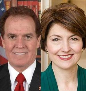 Photo of Rep. Phil Gingrey & Rep. Cathy McMorris Rodgers