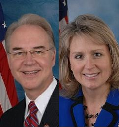 Photo of Rep. Tom Price & Rep. Renee Ellmers