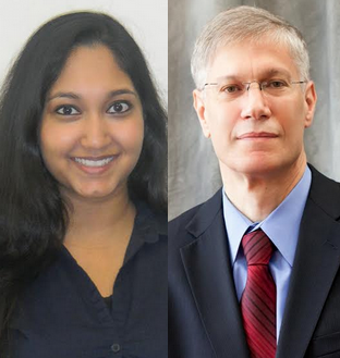 Photo of Rituparna Basu and Yaron Brook