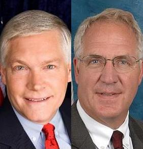 Photo of Rep. Pete Sessions & Rep. John Shimkus